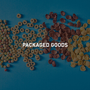 Packaged goods photography